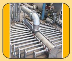 Header Assembly Converter For Sulphuric Acid Plant Saudi Arabia